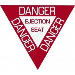 Danger Aircraft Placards!