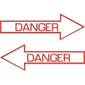 Danger Aircraft Placards,Decals!