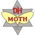 De Havilland Canada Moth Aircraft Logo,Decals!