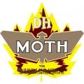 De Havilland Moth Aircraft Logo,Decals!