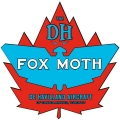 De Havilland Canada Fox Moth Aircraft Logo,Decals!