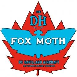 De Havilland Canada Fox Moth Aircraft Logo,Decals!