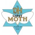 De Havilland Gipsy Moth Aircraft Logo,Decals!