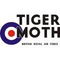 De Havilland Tiger Moth Aircraft Logo,Decals!