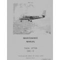 DeHavilland DHC-6 Twin Otter  Maintenance Manual 1968 $49.95