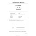 Diamond DA-20 Katana Flight Manual DA202-VLA $13.95