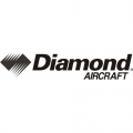 Diamond Aircraft Decal,Sticker 3 1/4''high x 19''wide!