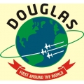 Douglas Aircraft Decal/Sticker 9 1/4''Diameter! Full Color!