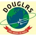 Douglas Aircraft Decal/Sticker 9 1/4''Diameter! Full Color!