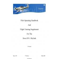 Dova DV-1 Skylark Pilot Operating Handbook and Flight Training Supplement 2009