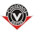 Drifter Vulcan Motorcycle Logo,Decals!