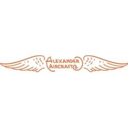 Alexander Eaglerock Tail Aircraft Logo,Decals!