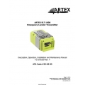 Artex ELT 1000 Emergency Locator Transmitter Description, Operation, Installation and Maintenance Manual