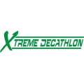 Extreme Decathlon Aircraft Decal/Sticker 4.75''h x 18''w!