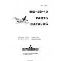 Mitsubishi MU-2B-10 Parts Catalog YET67028 $29.95