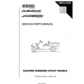 Ezgo Electric Powered Utility Vehicle Service Parts Manual 28812-G01