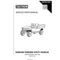 Ezgo Gasoline Powered Utility Vehicle Service Parts Manual 28766-G01