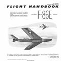 North American F-86E-1 USAF Series Aircraft T.O. 1F-86E-1 Flight Handbook 1954
