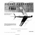 North American F-86A USAF Series Flight Handbook AN 01-60JLA-1 1952