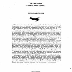 Fairchild F-24W46 and F-24R46 Manual $4.95