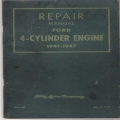 Ford 4-Cylinder Engine Repair Manual 1941-1947