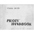 Fouga CM 170 Pilot's Operating Handbook 1959   $ 5.95
