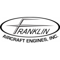 "Franklin Aircraft Engines Inc. Decal/Sticker 4.9"" high by 11.5"" wide!"