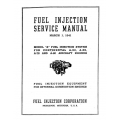 Continental Fuel Injection Service Manual A50, 65, 75 & 80  $6.95