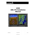 Garmin G500 AML STC Installation Manual 190-01102-06 2009 $13.95