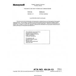 Garrett Model GTCP36-150(F2M) Parts Catalog 3800548-1/-2
