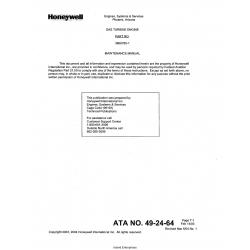 Garrett Gas Turbine Engine Model RE100[XL] Parts Catalog 3800722-1 $13.95