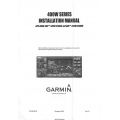 Garmin 400W Series GPS400W,GNC 420W/420AW and GNS 430W/430AW Installation Manual 190-00356-02_V08 $13.95