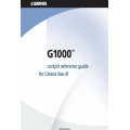 Garmin G1000 Cockpit Reference Guide for Cessna Nav III 190-00384-03  $9.95