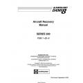 De Havilland Dash 8 Series 300 Aircraft Recovery Manual  PSM 1-83-9