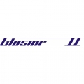 Glasair II Aircraft Decal,Sticker 2 1/4''high x 20''wide!