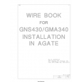 Wire Book GNS430/GMA340 Installation in agate  $2.95