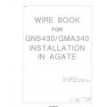 Wire Book GNS430/GMA340 Installation in agate