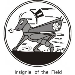 Grasshopper Insignia of the Field Aircraft Logo!