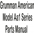 Grumman American Model AA1 Series Parts Manual