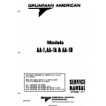 Grumman American Models AA-1, AA-1A & AA-1B Service Manual AA1B-136-2