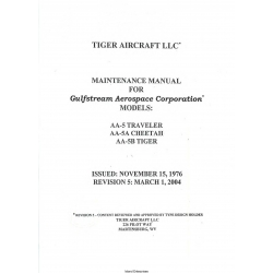 Grumman AA-5 Traveler AA-5A Cheetah AA-5B Tiger Maintenance Manual v04