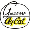 Grumman Agcat Aircraft Decal/Sticker!