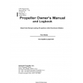 Hartzell HC-A2(MV,V,X)20-4A1 Two Blade Propeller Owner's Manual and Logbook 61-00-74 $6.95