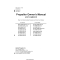 Hartzell Propeller Owner's Manual and Logbook No. 168 61-00-68