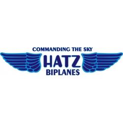Hatz Biplane Aircraft Logo,Decals!