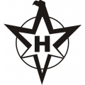"Henschel Decal/Sticker 2.5"" high by 2.3"" wide $5.99"