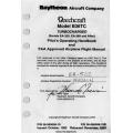 Beechcraft Model B36TC Turbocharge (Serials EA-320, EA-389 and After) Pilot's Operating Handbook and Flight Manual PIN 36-590006-19 / PIN 36-590006-19B $ 19.95