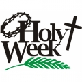 Holy Week! Sticker/Decals!