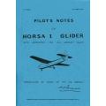 Horsa I Glider Pilot's Notes