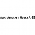 Aviat Aircraft Husky A-1B Decal/Sticker 1 3/4''high x 28 3/4''wide!